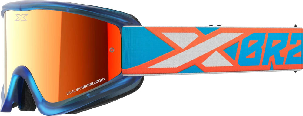 FLATOUT CYAN/FLO ORANGE/WHITE RED MIRROR