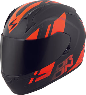 Load image into Gallery viewer, EXO-R320 FULL-FACE HELMET ENDEAVOR BLACK/ORANGE XS