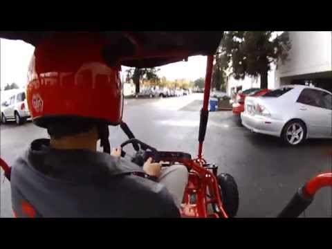 Load and play video in Gallery viewer, MID XRX Go Kart, 6.5hp Electric-Start, Torque Converter