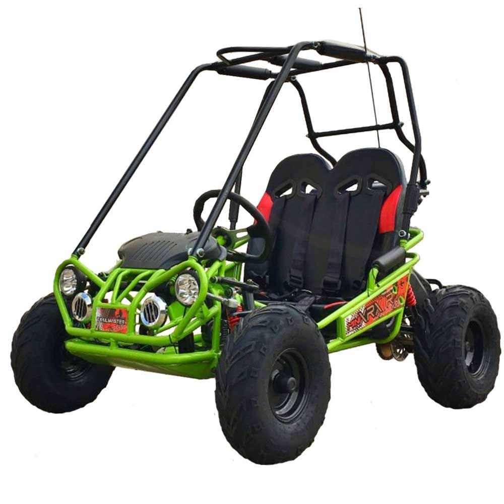 TrailMaster 163 MINI XRX/R+ Kids Go Kart, 5.5hp