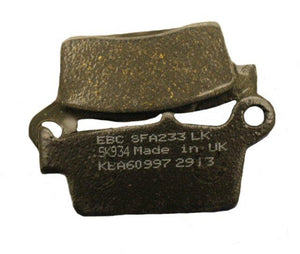 Load image into Gallery viewer, EBC Brake SFA233 Scooter Brake Pads 125-22