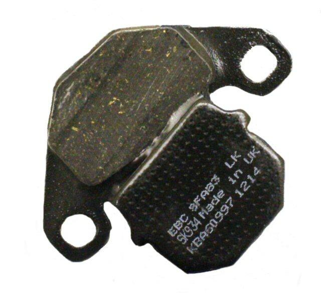 EBC Brake SFA83 Scooter Brake Pads 125-3