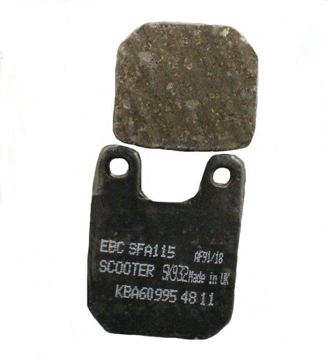 Load image into Gallery viewer, EBC Brake SFA115 Scooter Brake Pads 125-8