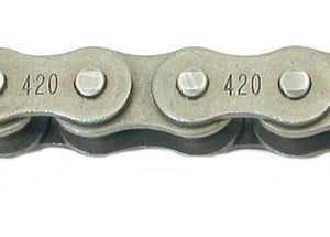 Load image into Gallery viewer, #420 Roller Chain 115-85-3FT