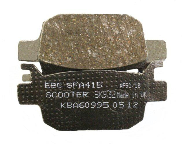 Load image into Gallery viewer, EBC Brake SFA415 Scooter Brake Pads 125-52