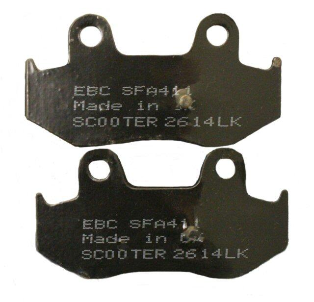 Load image into Gallery viewer, EBC Brake SFA411 Scooter Brake Pads 125-49