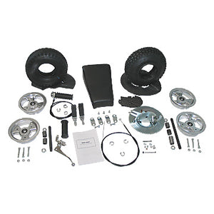 Mini Bike Rebuild Kit,  5 in. Aluminum Wheels
