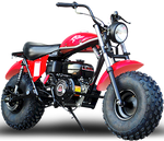 Monster Dog Mini Bike | Adult Size, Big Tires