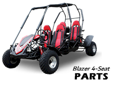 Load image into Gallery viewer, Frame COMP., for TrailMaster Blazer 4-Seater Buggy Go Kart