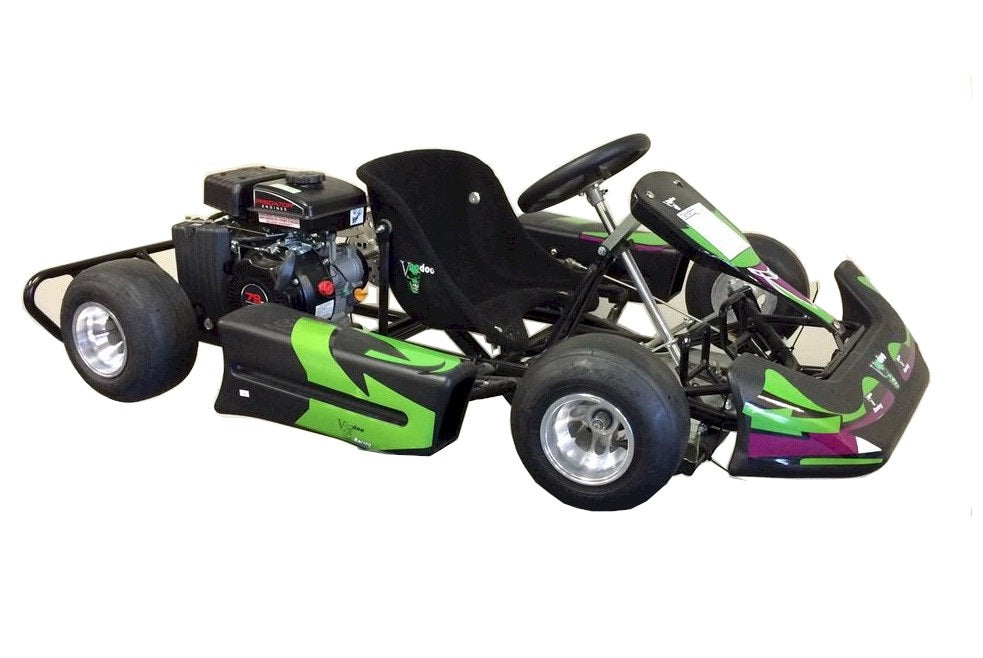 Voodoo VK1 Kid Race Go Kart | Gas Engine, 3hp, Ages 5-8