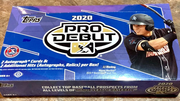 2020 Topps Pro Debut Baseball Hobby Box - BigBoi Cards