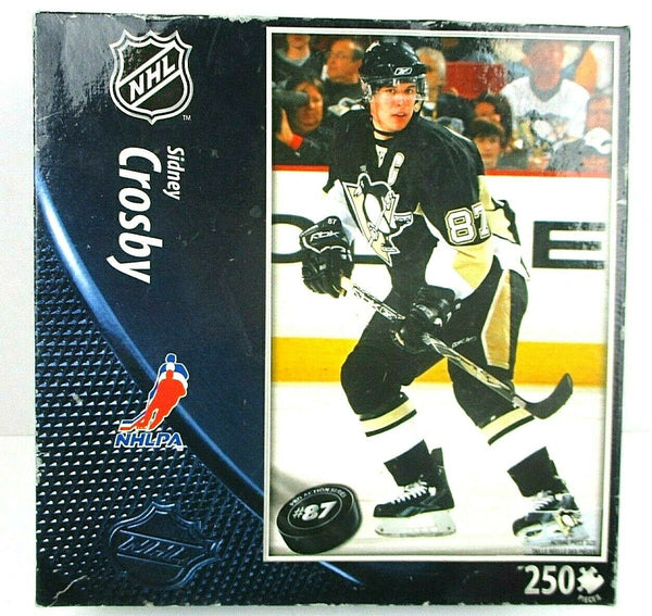 Sidney Crosby Pittsburgh Penguins 250pc Jigsaw Puzzle - Last Piece !! - BigBoi Cards