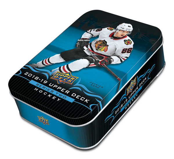 2018-19 Upper Deck Series 2 Hockey Case (12 Tins ) - BigBoi Cards