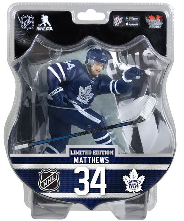 Auston Matthews Toronto Maple Leafs Limited Edition 6 inch Figurine - BigBoi Cards