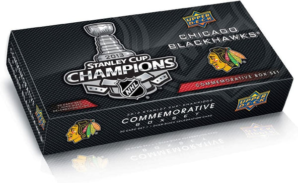 2012- 2013 Upper Deck Chicago Blackhawks Stanley Cup Champs Commemorative Box Set - BigBoi Cards