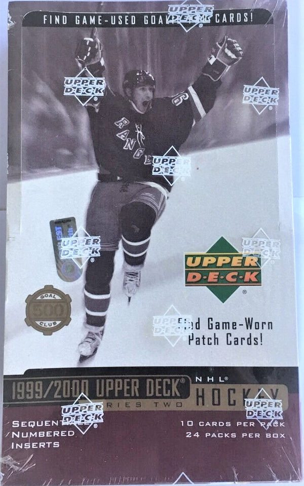 1999-00 Upper Deck Series 2 Hockey Hobby Box - BigBoi Cards