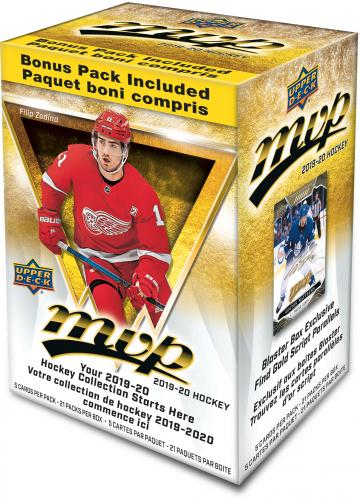2019-20 Upper Deck MVP Hockey Blaster Box