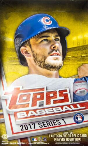 2017 Topps Series 1 Baseball Hobby Box - BigBoi Cards