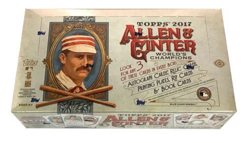 2017 Topps Allen & Ginter Baseball Hobby Box - BigBoi Cards