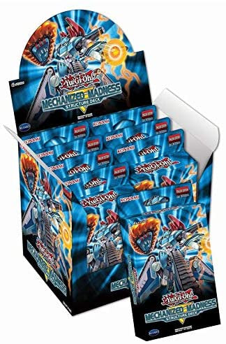 Konami Yu-Gi-Oh! TCG: Mechanized Madness Structure Deck Box - BigBoi Cards