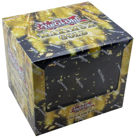 Yu Gi Oh! Maximum Gold Display Box - BigBoi Cards