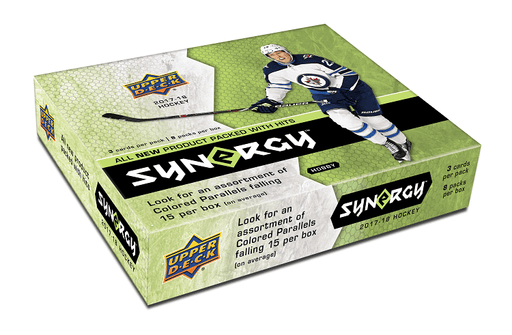 2017-18 Upper Deck Synergy Hockey Hobby Box (Case of 10)