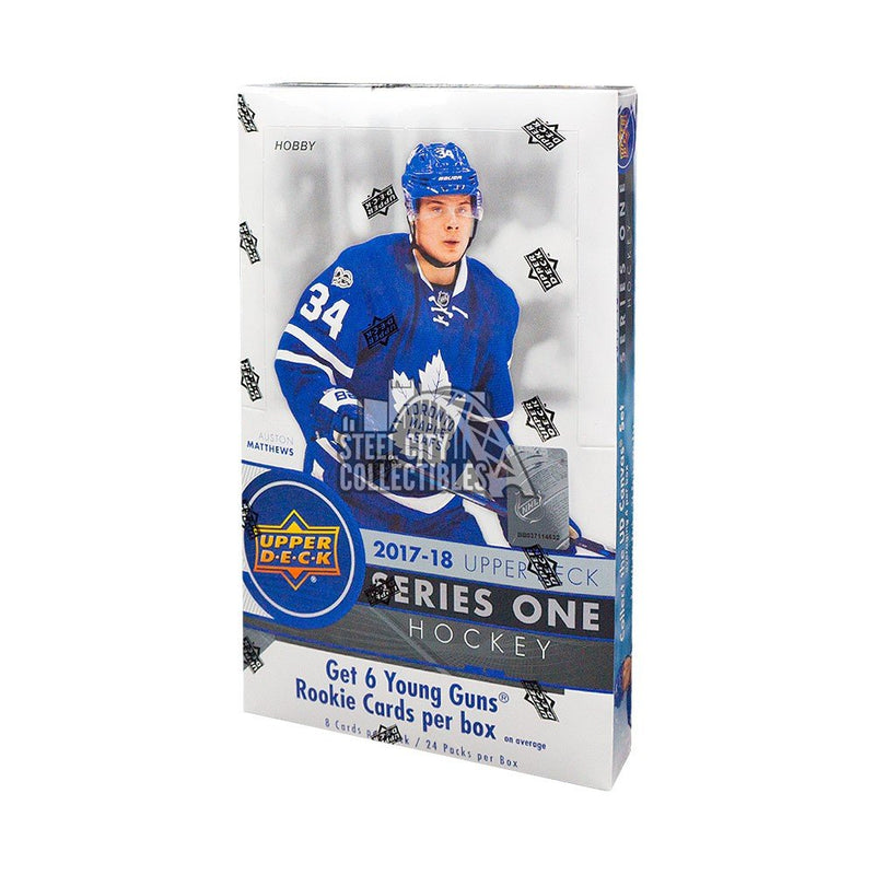 2017-18 Upper Deck Series 1 Hockey Hobby Box - BigBoi Cards