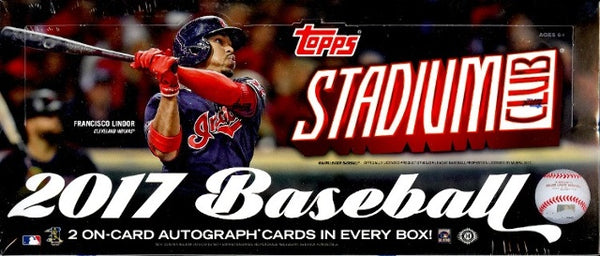 2017 Topps Stadium Club Baseball Hobby Box - BigBoi Cards