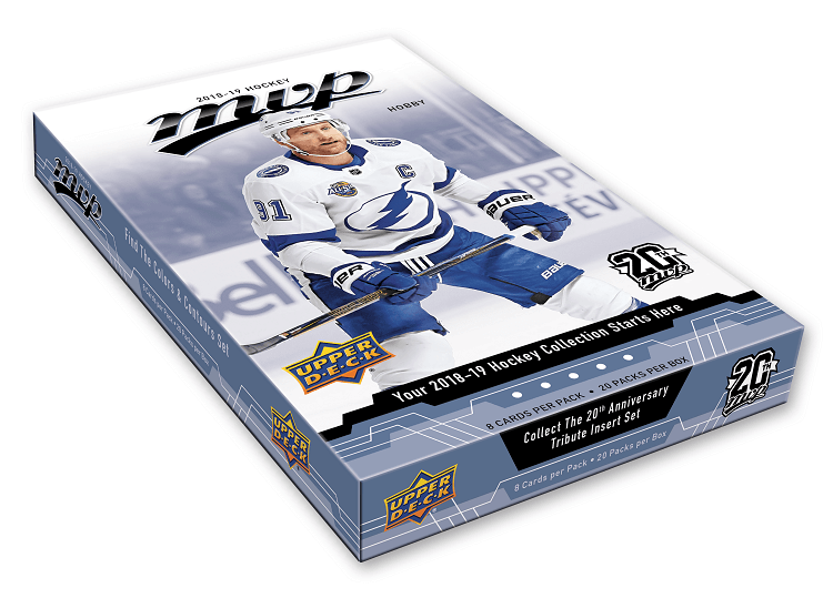 2018-19 Upper Deck Mvp Hockey Hobby Box - BigBoi Cards
