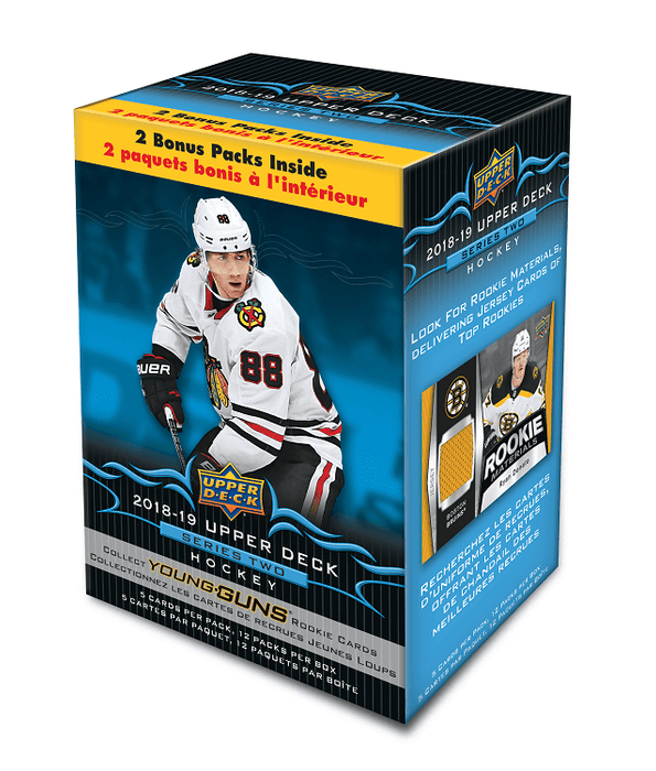 2018-19 Upper Deck Series 2 Hockey Blaster Box - Quecan Distribution