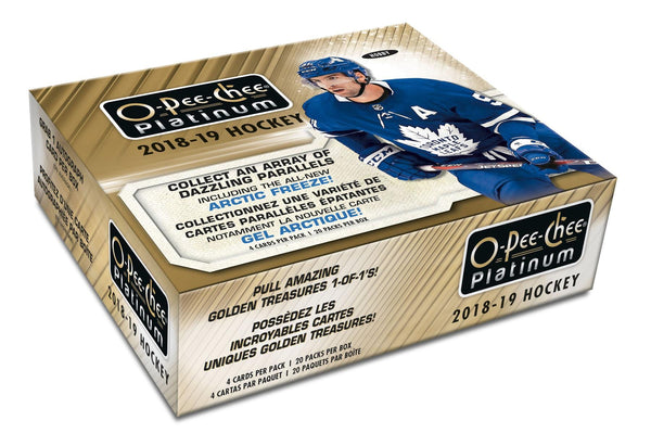 2018-19 Upper Deck O-Pee-Chee Platinum Hockey Hobby Box - BigBoi Cards