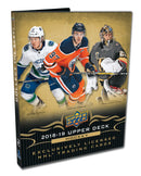 2018-19 Upper Deck Series 1 Hockey Starter Kit Binder - BigBoi Cards