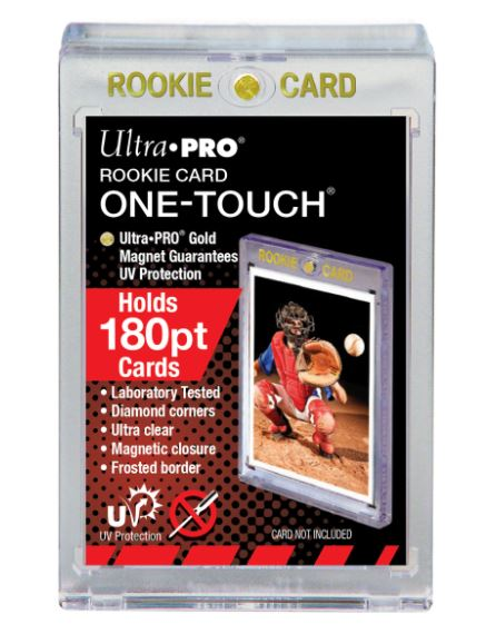 Ultra Pro UV ROOKIE ONE-TOUCH Magnetic Holder 180PT (Lot of 2)