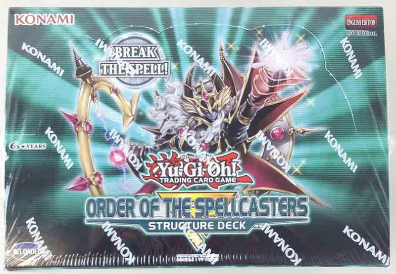 Yu Gi Oh! Order of the Spellcasters Structure Deck Box - BigBoi Cards