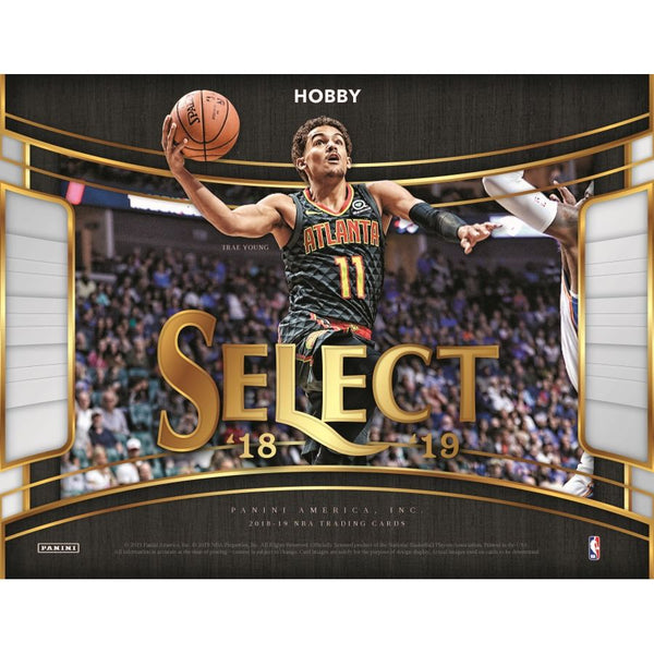 2018-19 Panini Select NBA Basketball Hobby Box - BigBoi Cards