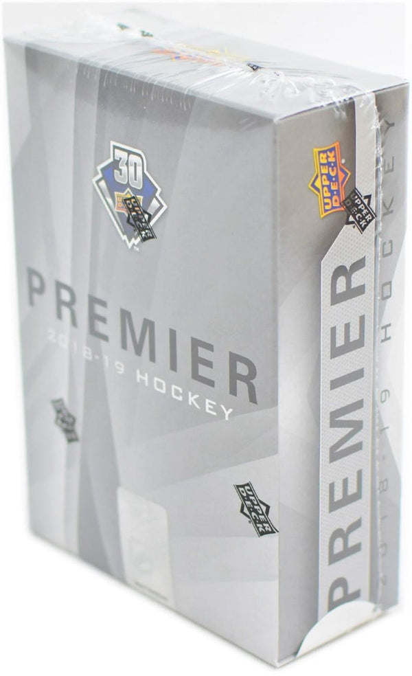 2018-19 Upper Deck Premier Hockey Hobby Box - BigBoi Cards