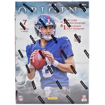 2019 Panini Origins Football Hobby Sealed Box - BigBoi Cards