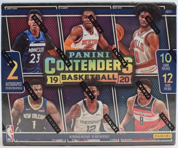 2019-20 Panini Contenders Basketball Hobby Sealed Box - BigBoi Cards