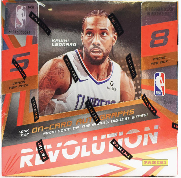 2019-20 Panini Revolution Basketball Hobby Box - BigBoi Cards