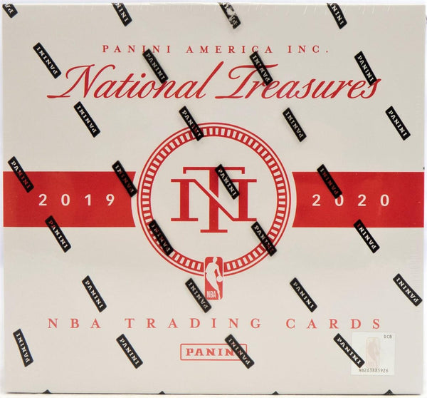 2019-20 Panini National Treasure Basketball Hobby Box - BigBoi Cards