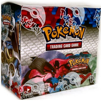 Pokémon TCG XY Booster Sealed Box