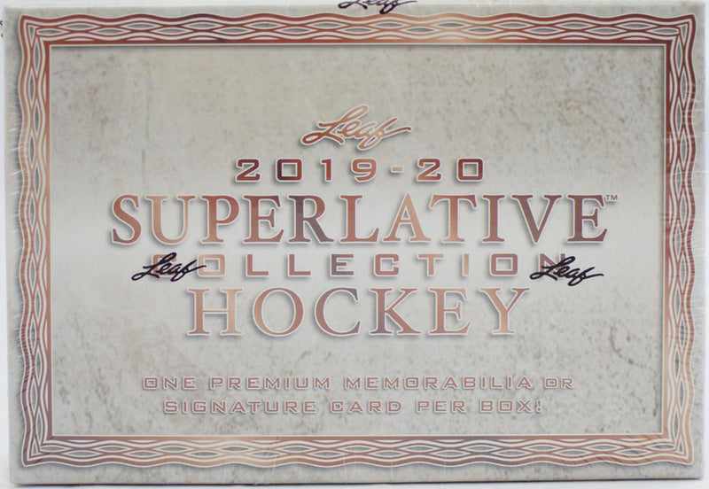 2019-20 Leaf Superlative Collection Hockey Hobby Case (Boxes of 12) - BigBoi Cards