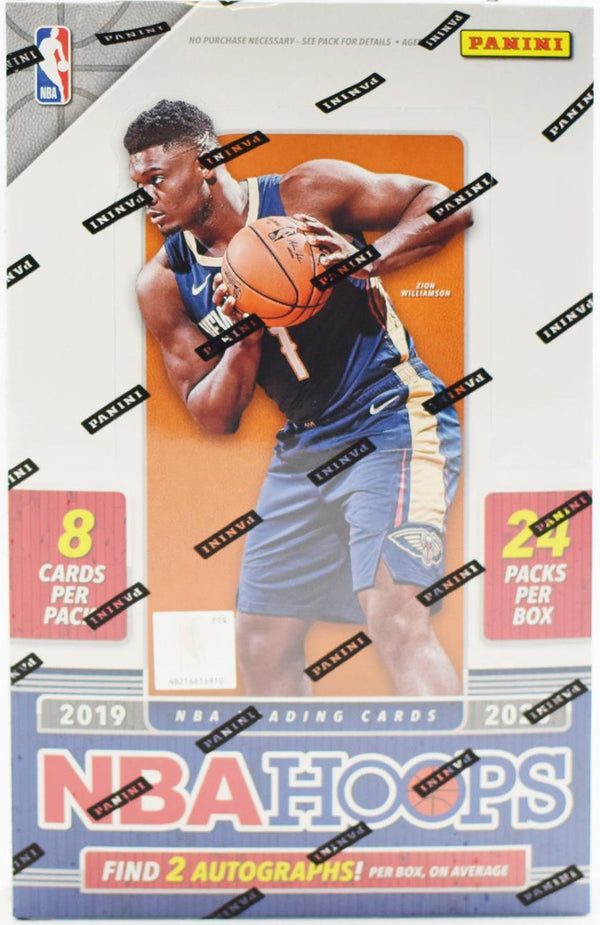 2019-20 Panini Hoops Basketball Hobby Box - BigBoi Cards
