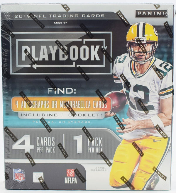 2019 Panini Playbook Football Hobby Box - BigBoi Cards