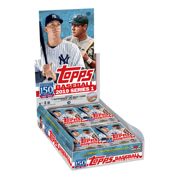 2019 Topps Series 1 Baseball Hobby Box - BigBoi Cards