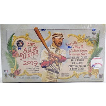 2019 Topps Allen & Ginter Baseball Hobby Box - BigBoi Cards
