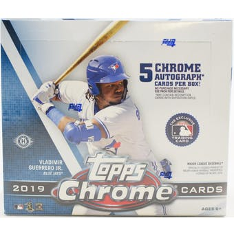 2019 Topps Chrome Baseball Hobby Jumbo Box - BigBoi Cards