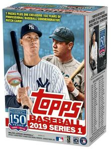 2019 Topps Series 1 Baseball Blaster Box - BigBoi Cards