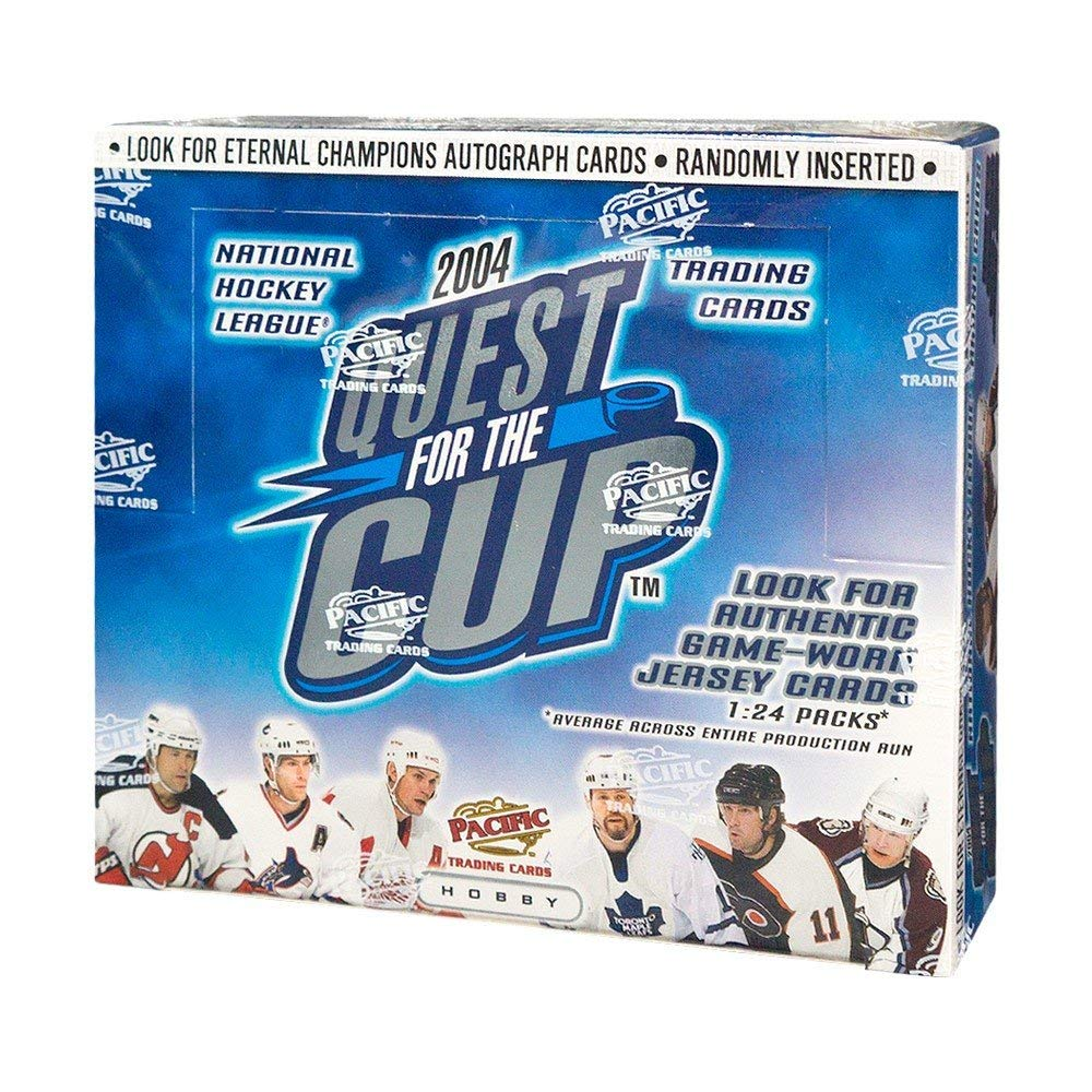 2003-04 Pacific Quest For The Cup Hockey Hobby Box