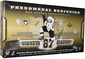 2005-06 Upper Deck NHL Sidney Crosby Phenomenal Beginning Set Box - BigBoi Cards
